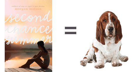 second chance summer paired with basset hound
