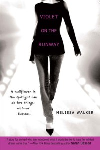 Violet on the Runway by Melissa C Walker book cover