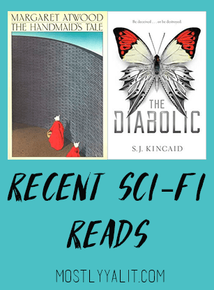 Recent Sci-Fi Reads: The Diabolic and The Handmaid's Tale   Book Reviews