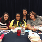 Becky Albertalli, Angie C Thomas, and Julie Murphy came to Toronto! FANGIRLING HARD.