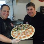 Superfry & the Big Ragu make Pizza at Johnny's Slice of New York