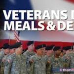 Restaurants Honor Military with Deals for Veterans Day