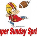 Win A  55′ TV At The Super Sunday Sprint