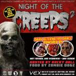 Night of the Creeps 2 Art Exhibit & Dance Party