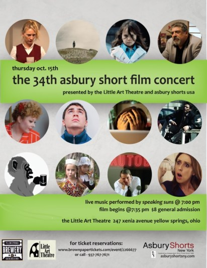 Asbury Little Art Theatre Flyer