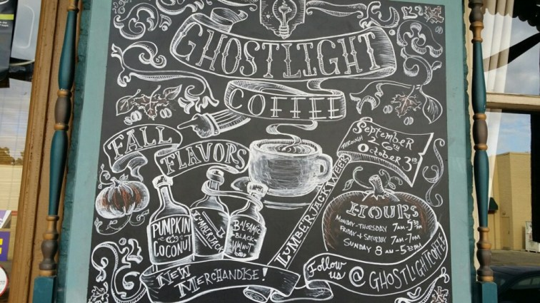 Ghostlight Coffee creates a fun and delicious atmosphere!