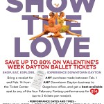 The Ballet invites you to Show the Love!