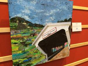 The Visual Art Center of Preble County put together this gallery featuring local artists depicting famous covered bridges in the region.