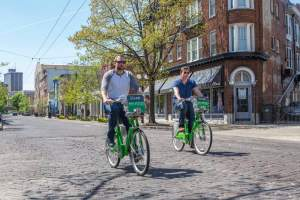 Link bikes provide transportation