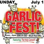 Garlic Fest Announces Food Vendors for Sunday