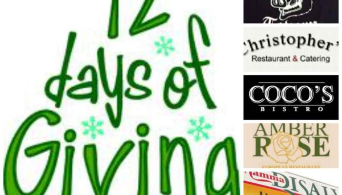 DaytonDining's 12 Days of Giving