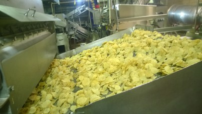 Inside the Mikesell's Potato Chip Plant