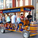 Welcoming the Pedal Pub & The Pedal Wagon to Downtown