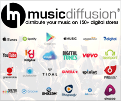 Distribute your music online with MusicDiffusion®!