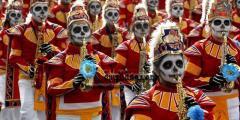 يوم الموتى…. عيد مكسيكي وطني مرعبٌ وجميلٌ ومثير