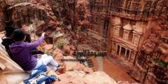 معلومات عن مدينة البتراء العظيمة : من عجائب الدنيا السبع الجديدة