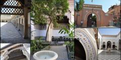 قصر الباهية نموذجًا للعراقة بين روائع الفن المعماري المغربي