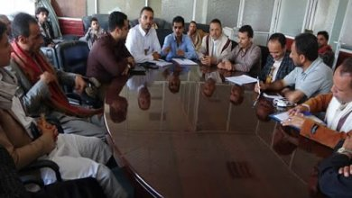 Photo of starting  procedures for merging the transportation office in Ibb with the Land Transport Authority