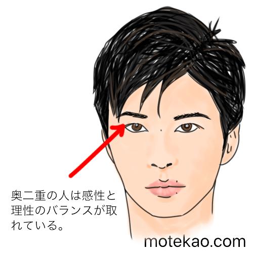「奥二重」田中圭さんは感性と理性のバランスが取れている