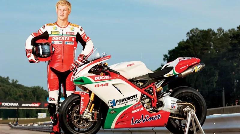 Larry Pergram ha cambiado el rojo Ducati por el verde marihuana