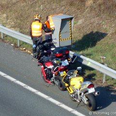 Un motorista hace ´saltar´ un radar 140 veces y es multado con 31.300 euros