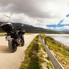Cadiz en moto