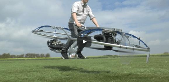 Una moto para salir volando