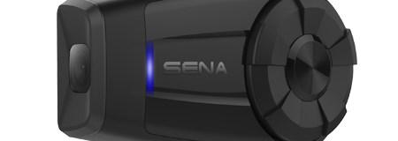 Sena presenta un nuevo intercomunicador con cámara de bajo perfil: el 10c Evo