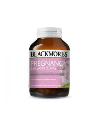 Blackmores Suplement Pregnancy Breastfeeding Gold 60 Capsules Maternity