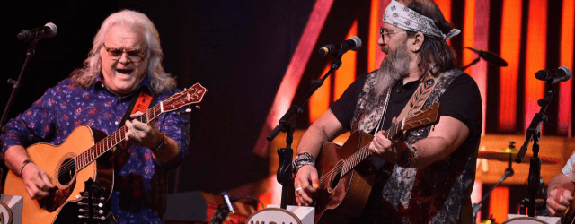 Steve Earle and Ricky Skaggs at Bonnaroo