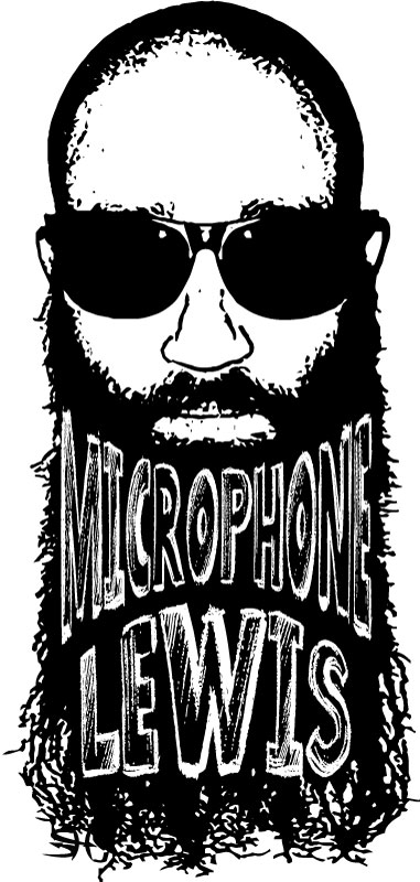 Microphone Lewis Logo