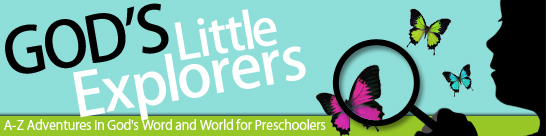 Come Learn more about God's Little Explorers Preschool Curriculum