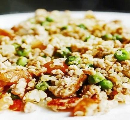 Ground Turkey Quinoa and Brown Rice