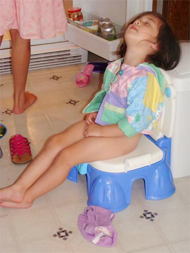 Girl-asleep-on-potty-Mother-Humor