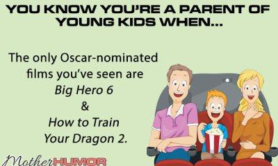 Parenting eCard Oscars
