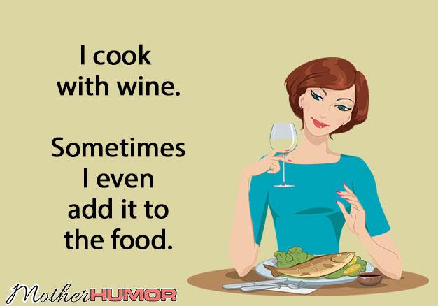 Funny Wine eCard Mother Humor