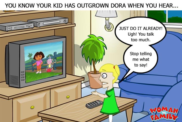 Dora Cartoon