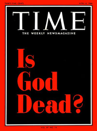 Time cover, Is God Dead?