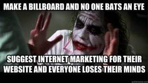 internet marketing - - no-one-bats-an-eye