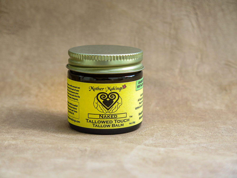 1oz Naked Tallowed Touch Tallow Balm product photo