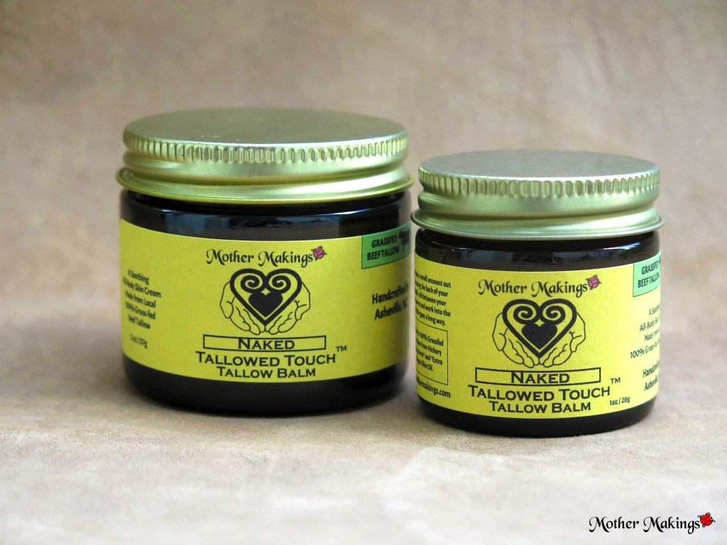 1oz and 2oz Naked Tallowed Touch Tallow Balm product photos