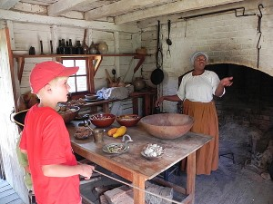 Kitchen at the Great Hopes Plantation