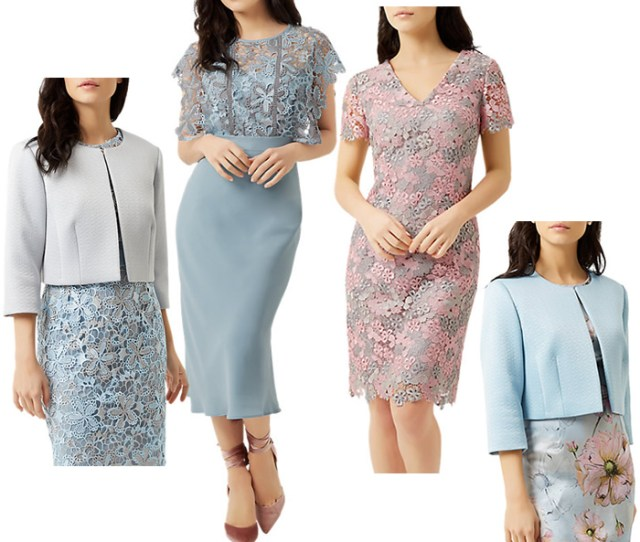Fenn Wright Manson Petite Dresses And Jackets  Mother Of The Bride Occasionwear Pink Blue And