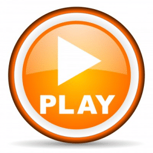 Orange play-button