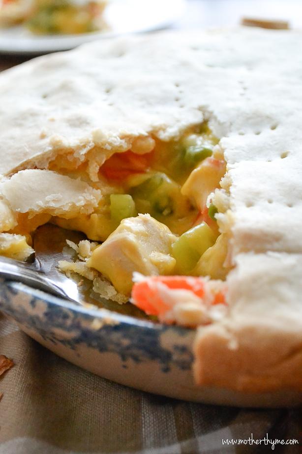 Chicken Pot Pie | www.motherthyme.com