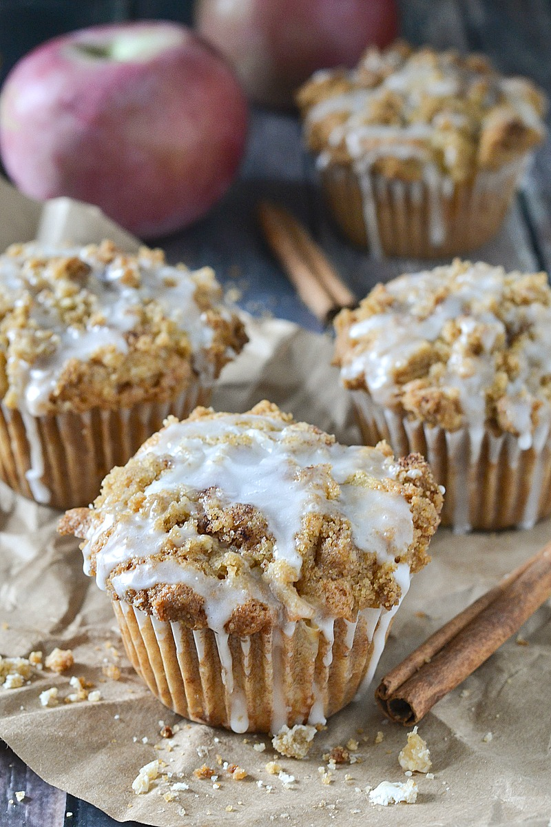 Apple Spice Muffins   www.motherthyme.com