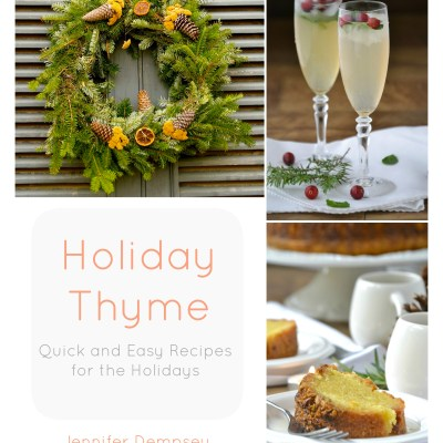 Holiday Thyme Cookbook plus Giveaway