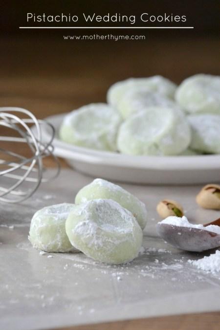 pistachio wedding cookies