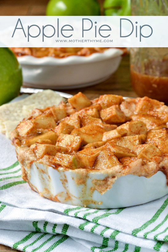 Apple Pie Dip - Mother Thyme
