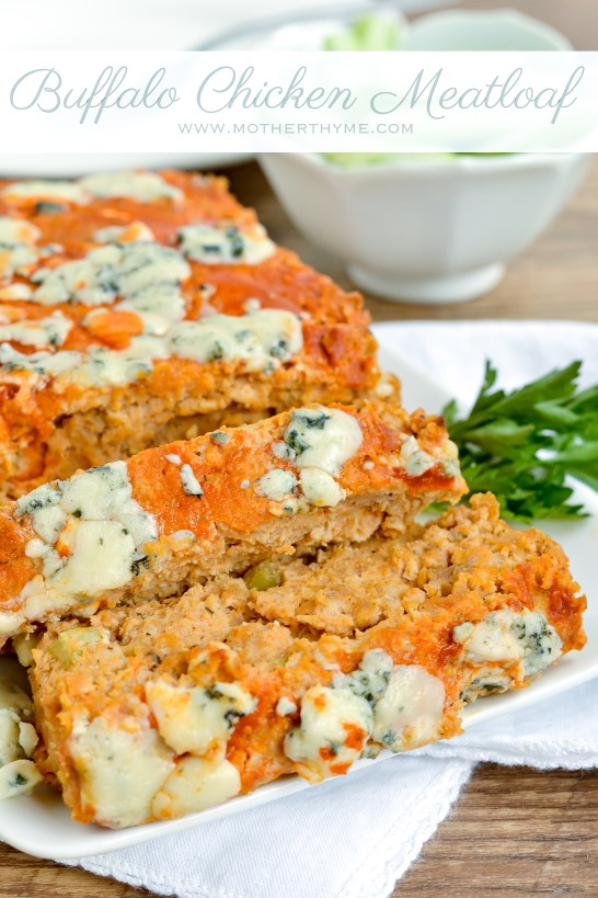 Buffalo Chicken Meatloaf - Mother Thyme